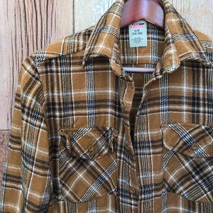 Retro Dickies Flannel Shirt S